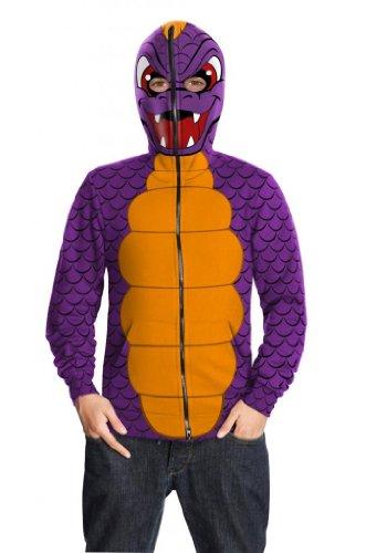 (Spyro Hoodie Kostüm für KInder-L)