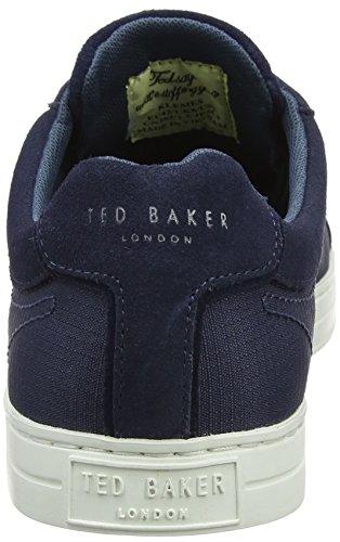 Ted Baker Klemes, Baskets Homme Bleu (Dark Grey)