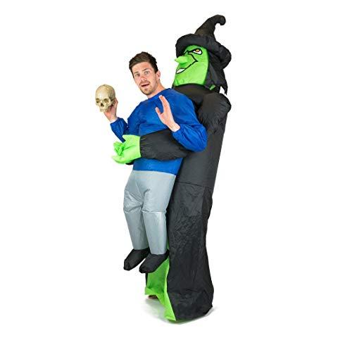 Bodysocks® Aufblasbares Hexe Kostüm für Erwachsene