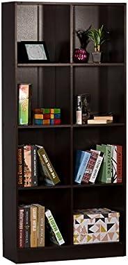 DeckUp Meritus-L Book Shelf/Display Unit (Dark Wenge, Matte