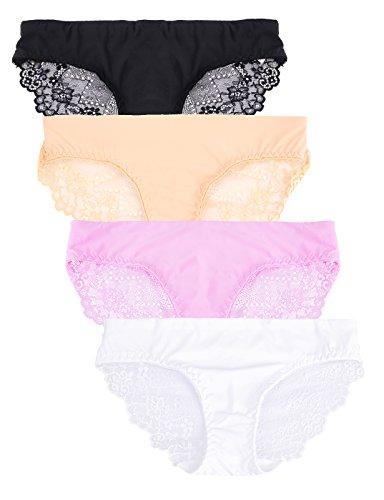 Skyrocket Bragas Pantalones de mujer sin costuras señoras Ropa interior con multicolor