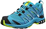 Salomon XA Pro 3D W, Zapatillas de Trail Running para Mujer, Azul (Bluebird/Caneel Bay/Acid Lime), 38 EU
