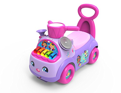 Fisher-Price 47898 Little People - Desfile de música, Color Morado