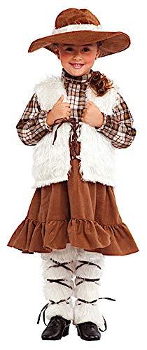Costume di Carnevale da PASTORELLA Vestito per Bambina Ragazza 1-6 Anni Travestimento Veneziano Halloween Cosplay Festa Party 8710 Taglia 5