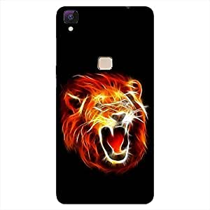 MOBO MONKEY Printed Hard Back Case Cover for Vivo V3 - Premium Quality Ultra Slim & Tough Protective Mobile Phone Case & Cover
