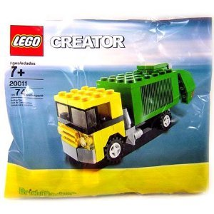 Lego City Set #20011 Garbage Truck  available at amazon for Rs.4054