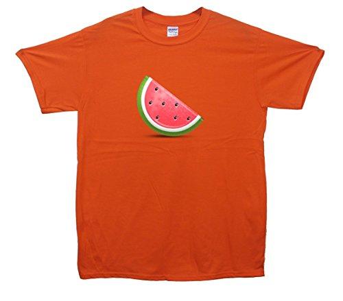 Watermelon Emoji T-Shirt Orange