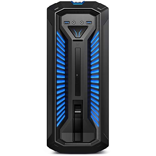 MEDION ERAZER P67069 Gaming Desktop PC (Intel Core i5-9400F, 16GB DDR4 RAM, 1TB HDD, 512GB PCIe SSD, NVIDIA GeForce GTX 1660 6GB GDDR5 VRAM, DVD, Hot-Swap, WLAN, Win 10 Home)