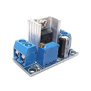 Ndt-Electronics, Spannungsregler-Platine für LM 317, Abwärtsregler DC-DC 1,2V - 37V, Mini-Schaltregler - Arduino
