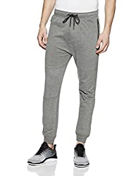 Aeropostale Mens Slim Fit Sweatpants (AE1001432053_Med HTHR Grey_28)