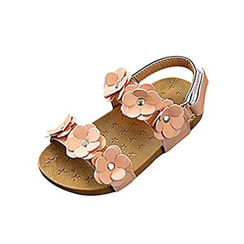 hellomiko Mädchen Sandalen Babyschuhe Baby Sandalen Kleinkind Schuhe Erste Wanderschuhe Frühling Sommer Weiche Sandalen IM Freien (Mädchen Sandles Gladiator)