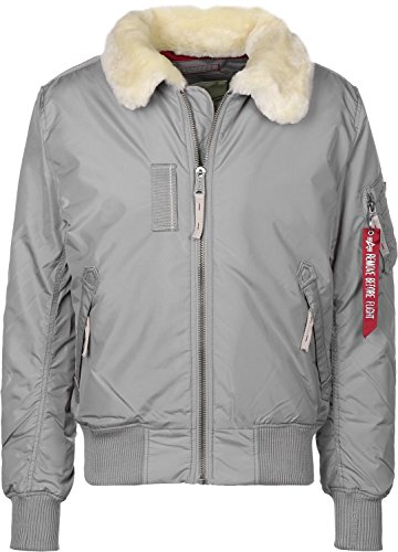 Alpha Industries Injector III Jacke silver