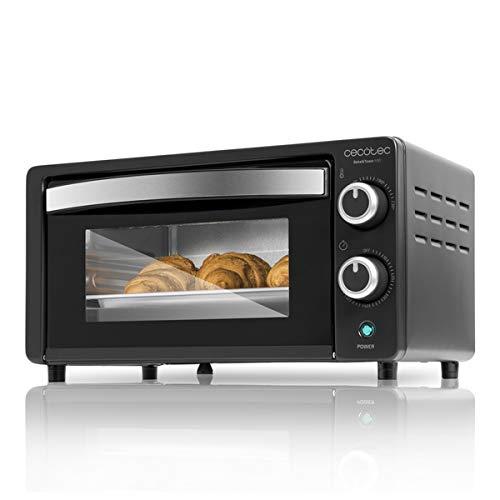 Cecotec Horno Conveccion Sobremesa Bake&Toast 490. Capacidad de 10 litros, 1000 W, Temperatura hasta...