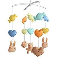 Baby-Geburtstags-Geschenk [Kekse] Musikalisches Mobile, Baby-Raum-Dekoration preisvergleich bei kleinkindspielzeugpreise.eu