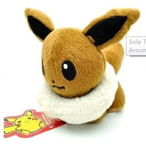 Pokemon Plush Eevee Doll Around 12cm 5