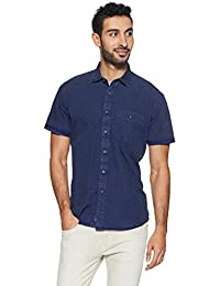 LP Jeans By Louis Philippe Men's Checkered Slim Fit Casual Shirt - B078HTZTLV