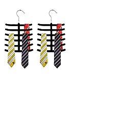 Mayatra's Nylon Pack of 2 Tie Hangers