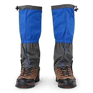 Dioche Gamasche Schuhe Abdeckung, Outdoor Wasserdichte Sport Klettern Wandern Legging Gamaschen Schuh Stiefel Abdeckung für Erwachsene (1 Paar)