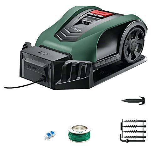 Tondeuse robot connectée Bosch - Indego S+350 (contrôle avec smartphone, largeur de coupe de...