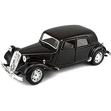 BBurago 18-22017 - Bijoux Collezione Citroen 15 CV TA (1938), scala 1:24, 1 Pezzo, [Colori Assortiti]