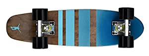 Ridge Skateboards Maple Mini Cruiser- NR3 Skateboard, Nero