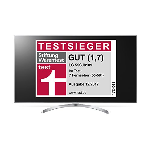 LG 55SJ8109 139 cm (55 Zoll) 4k Fernseher - 4