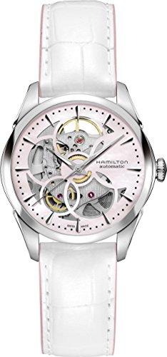 Hamilton Jazzmaster Skeleton Lady h32405871Mujer automático reloj
