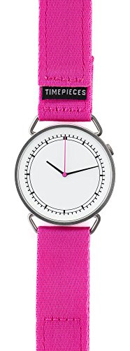 Rosendahl - MUW wrist watch - with white dial, pink hand and pink strap