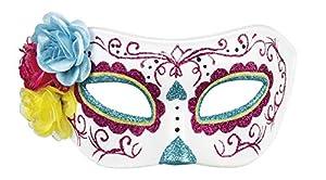 Boland 72217 - Máscara de Ojos, Color Rosa y Blanco