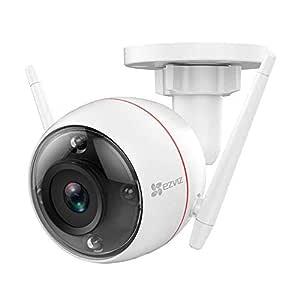 EZVIZ Wireless 1080p Outdoor Bullet Camera (White)