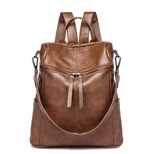 COOFIT - Bolso Mochila para Mujer Negro Negro Medium, marrón (Marrón) - ZCCJ110330WVSOZ1179