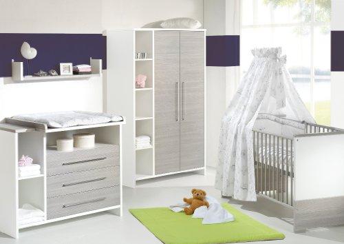 lit evolutif avec table a langer lit compact haut x blancgris x dimix with lit evolutif avec. Black Bedroom Furniture Sets. Home Design Ideas