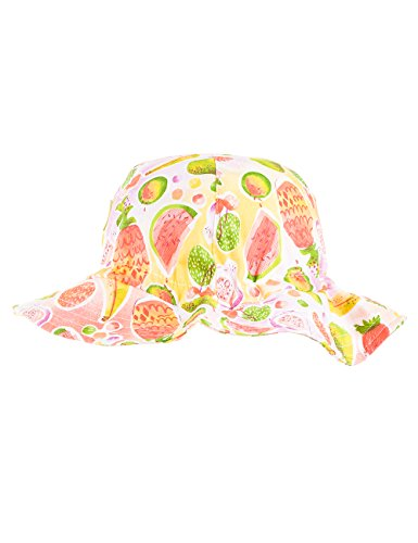 maximo Sommerhut, Glockenkrempe, Chapeaux / Bonnets Fille Mehrfarbig (tangerine - Früchte 30)