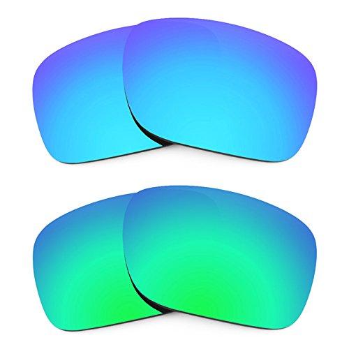 Revant Ersatzlinsen für Oakley Holbrook Polarisiert 2 Paar Kombipack K006