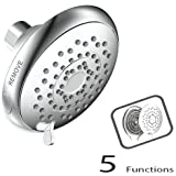 ALTON 5-Function Overhead Shower with Face Plat Removable (Chrome)