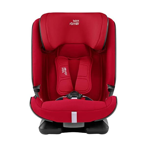 Britax Römer car seat 9-36 kg, ADVANSAFIX Z-LINE Isofix Group 1/2/3, Fire Red Britax Römer Made in germany Flip & grow - change from buckle to secureguard Excellent security concept - with xp-pad, secureguard and pivot link isofix system 2