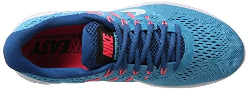 Nike Lunarglide 8, Scarpe Running Donna Blu (Chlorine Blue/glacier Blue-industrial Bl)