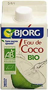 Bjorg Eau de Coco Bio 10 briques de 500 ml