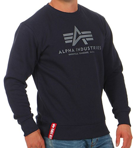 Alpha Industries Basic Sweater Blu