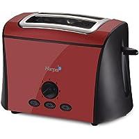 Harper HGP 400 RED - Tostadora, 870 W, color rojo