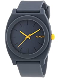 Nixon Unisex-Uhr Analog Quarz mit Plastikarmband – A1191244-00