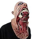 Honestyi anti stress spielzeug groß Squishies Blutige Zombie-Maske schmelzen Gesicht Erwachsenen Latex-Kostüm zu Fuß tot Halloween beängstigend