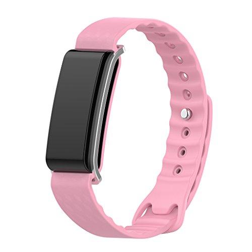 Runrain Silicone Sostituzione Banda Braccialetto Cinturino da Polso per Huawei Honor A2Smart Watch