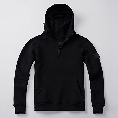 PG Wear Zip Hoody Smuggler Front Line schwarz