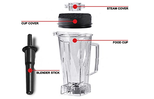 Whole Fruit Juicer Mixer Professional Centrifugal Juice Extractor Powerful and Low Noise 2200W / 3L , red