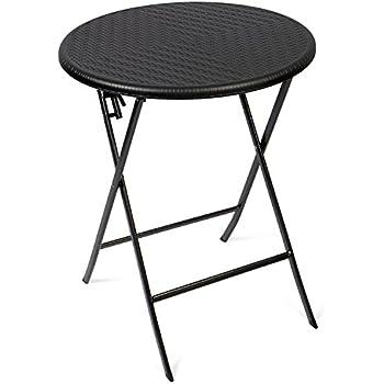 greemotion Table de jardin ronde bistrot – Table de balcon ronde Ø ...