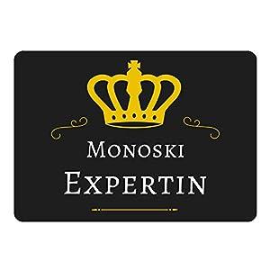 Mousepad Monoski Expertin schwarz