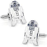 Gemelli ispirati a Star Wars con R2D2, in confezione regalo, per i fan del cosplay