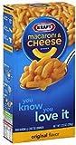 KRAFT mac and cheese MACARONI&CHEESE 206g (6 PACKS) US Version
