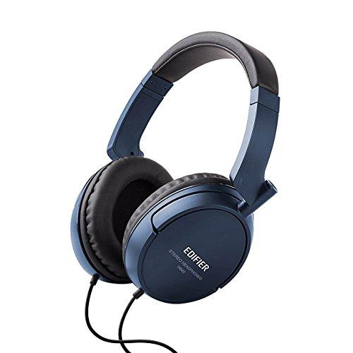 Edifier H840 Audiophile Over-Ear Hi-Fi geräuschabschirmende Kopfhörer Ohne Mikro Blau Audio-over-ear-kopfhörer